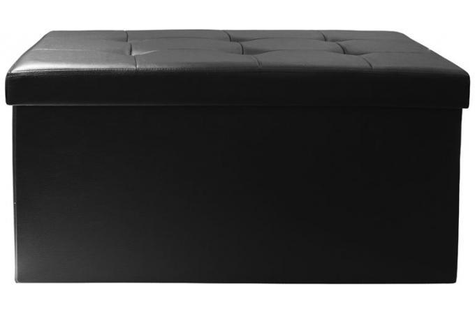 Banc Coffre Pliable Noir Ysse Design Sur Sofactory