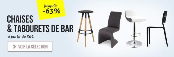 Nouvelles chaises et nouveaux tabourets design
