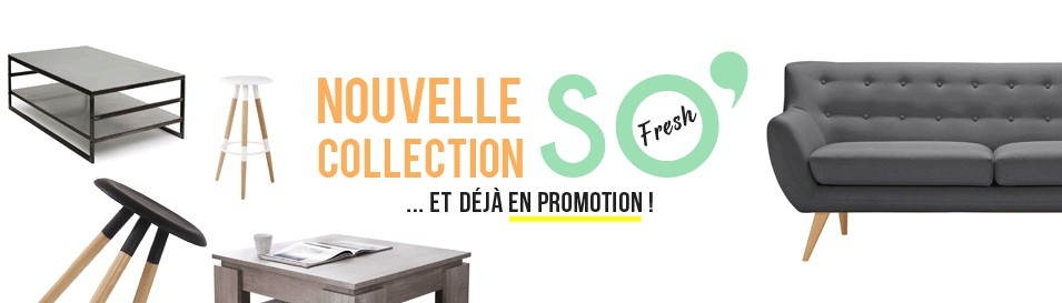 Nouvelle collection meuble design