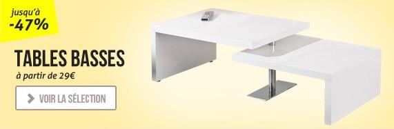 Nouvelles tables basses design
