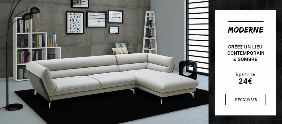 mobilier deco moderne. Black Bedroom Furniture Sets. Home Design Ideas
