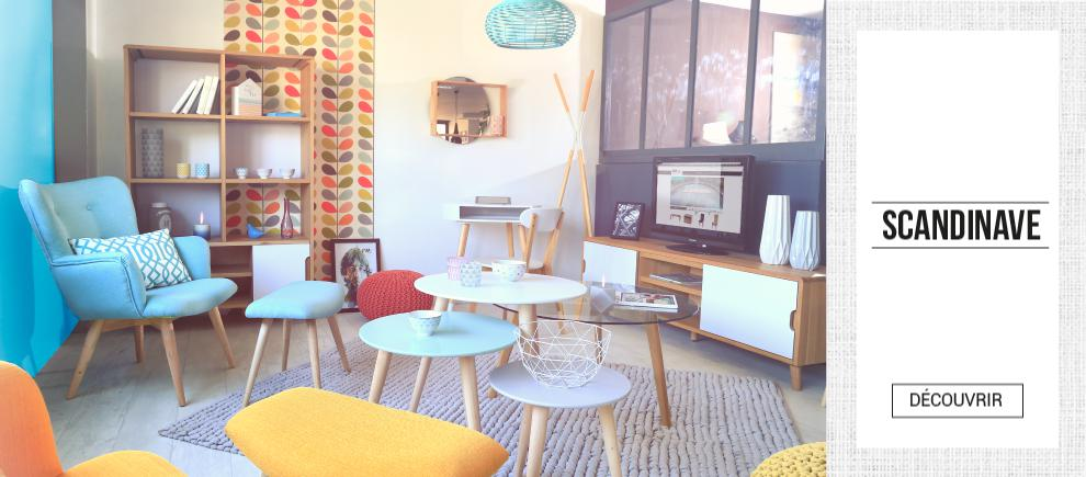 Meuble design pas cher mobilier discount sofactory - Magasin scandinave paris ...
