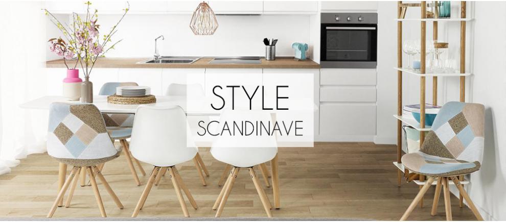 Meuble design pas cher mobilier petit prix sofactory - Mobilier scandinave design ...