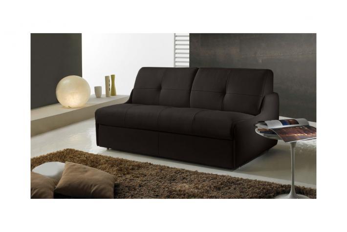 canap convertible en cuir bolivia design pas cher sur sofactory. Black Bedroom Furniture Sets. Home Design Ideas