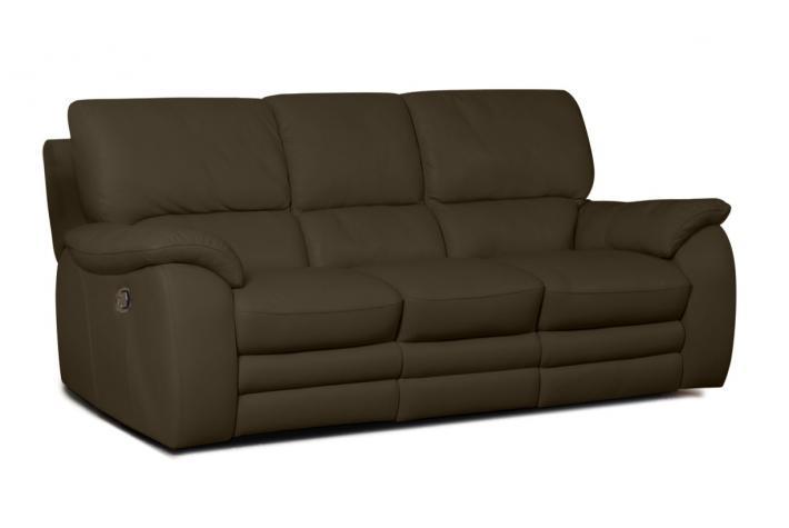 canap relaxation 3 places en cuir peters design pas cher sur sofactory. Black Bedroom Furniture Sets. Home Design Ideas