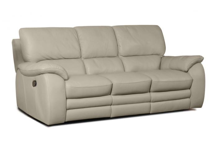 canap relaxation 3 places en cuir peters design sur sofactory. Black Bedroom Furniture Sets. Home Design Ideas