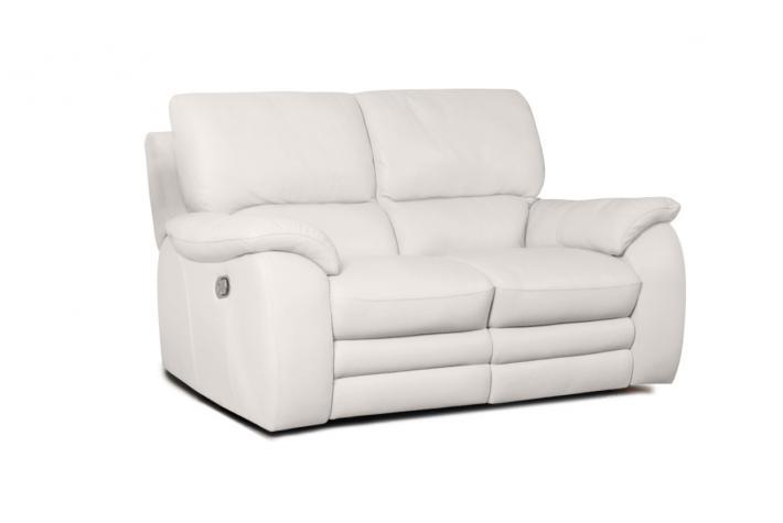 canap relaxation 2 places en cuir plein fleur peters design sur sofactory. Black Bedroom Furniture Sets. Home Design Ideas