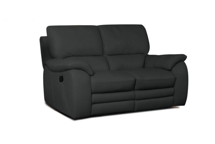 canap relaxation 2 places en cuir peters design sur sofactory. Black Bedroom Furniture Sets. Home Design Ideas