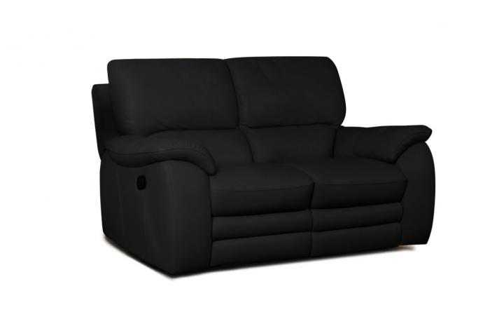 canap 2 places relaxation lectrique en cuir peters design sur sofactory. Black Bedroom Furniture Sets. Home Design Ideas