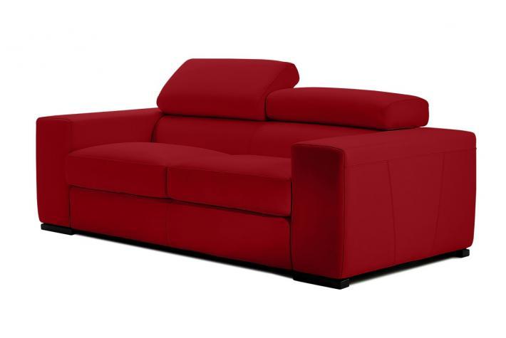 Canap 2 place en cuir jona design pas cher sur sofactory for Canape 2 places simili cuir pas cher