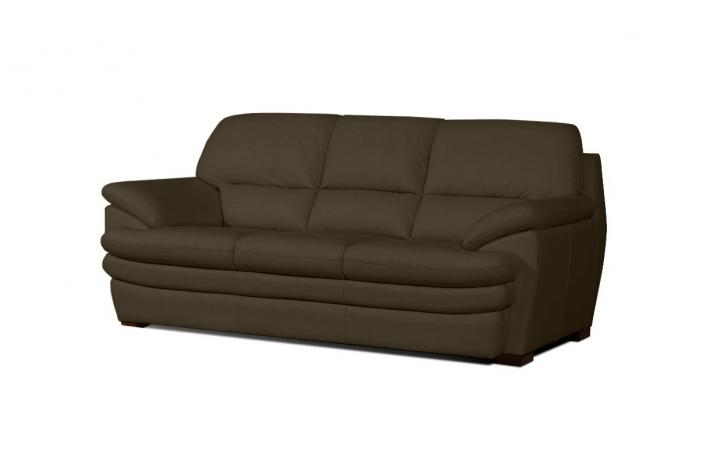 canap 3 places en cuir andrea design pas cher sur sofactory. Black Bedroom Furniture Sets. Home Design Ideas
