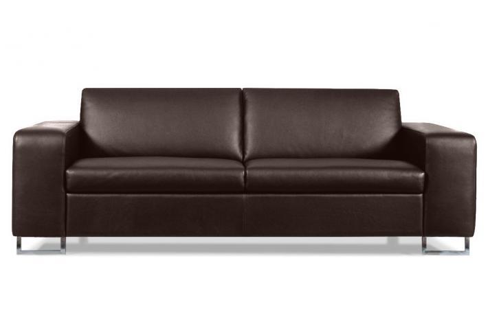 canap 3 places en cuir fosca design pas cher sur sofactory. Black Bedroom Furniture Sets. Home Design Ideas