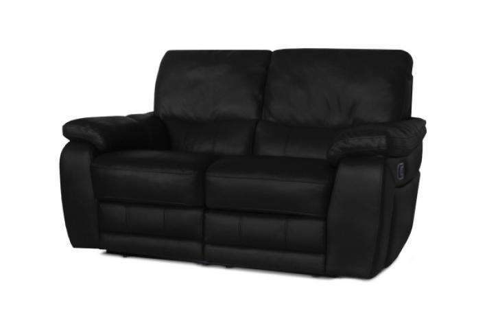 Canap relax lectrique en cuir 2 places select design pas cher sur sofactory - Canape relax electrique pas cher ...