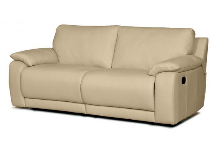 canap relaxation 3 places en cuir marko design pas cher sur sofactory. Black Bedroom Furniture Sets. Home Design Ideas