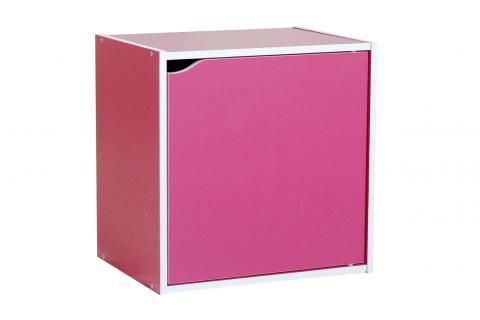 bloc de rangement 1 porte elias magenta design sur sofactory. Black Bedroom Furniture Sets. Home Design Ideas