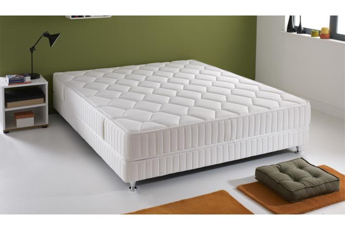 sommier 160 x 200 4 pieds zuma design pas cher sur sofactory. Black Bedroom Furniture Sets. Home Design Ideas