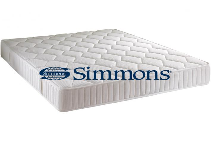 matelas simmons 140 x 190 cm ressorts ensach s cm venice design pas cher sur sofactory. Black Bedroom Furniture Sets. Home Design Ideas