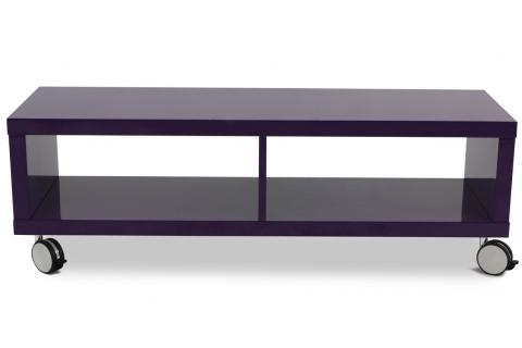 meuble tv long playlist violet design sur sofactory. Black Bedroom Furniture Sets. Home Design Ideas