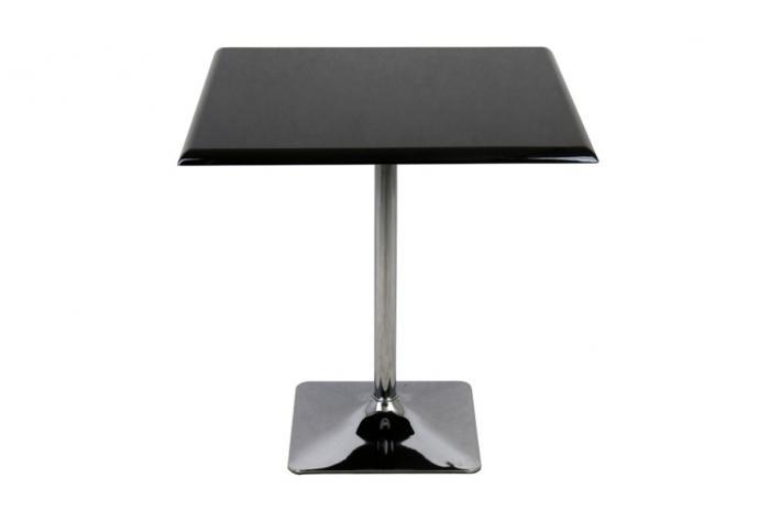 Table De Bistrot Carr E Alexa Noir Design Pas Cher Sur Sofactory