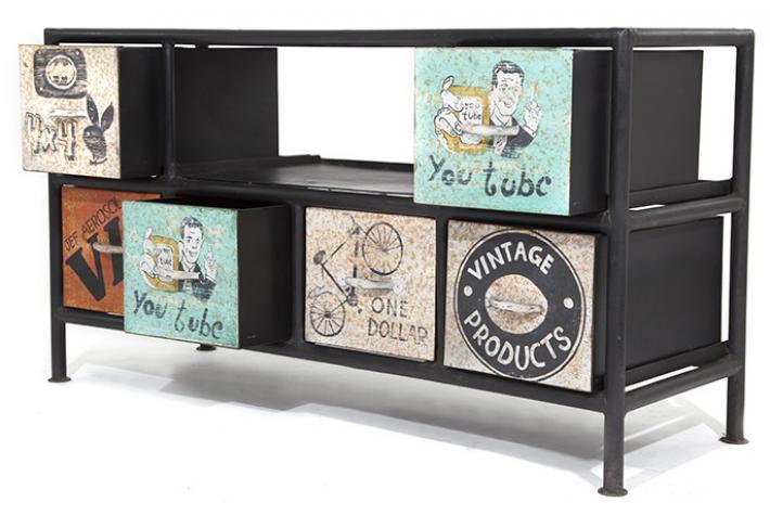 meuble tv blazon design pas cher sur sofactory. Black Bedroom Furniture Sets. Home Design Ideas