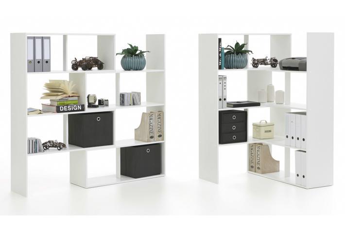 Biblioth que modulabe stretch design pas cher sur sofactory - Bibliotheque modulable pas cher ...