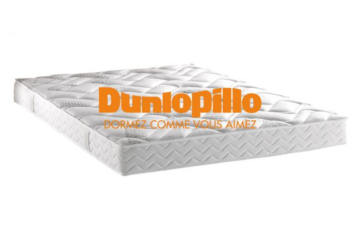 matelas dunlopillo 160x200 cm mousse polyur thane 21 kg m3 cm naby design pas cher sur. Black Bedroom Furniture Sets. Home Design Ideas