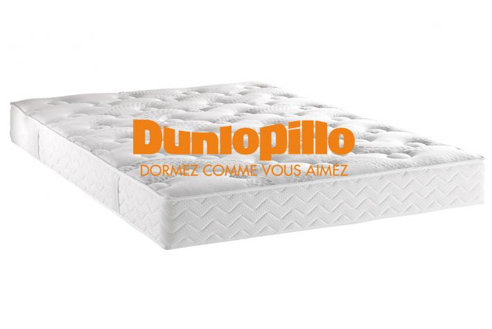 matelas dunlopillo 140 x 190 cm mousse polyur thane 21kg m3 cm bark design pas cher sur. Black Bedroom Furniture Sets. Home Design Ideas