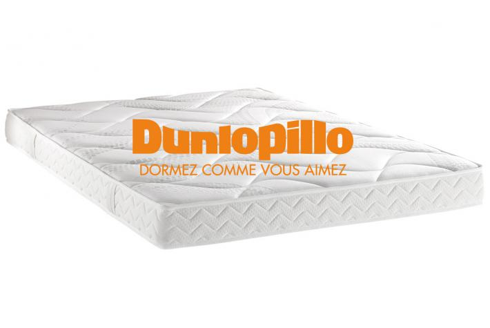 matelas dunlopillo 160 x 200 cm mousse polyur thane 21kg m3 cm novy design pas cher sur. Black Bedroom Furniture Sets. Home Design Ideas