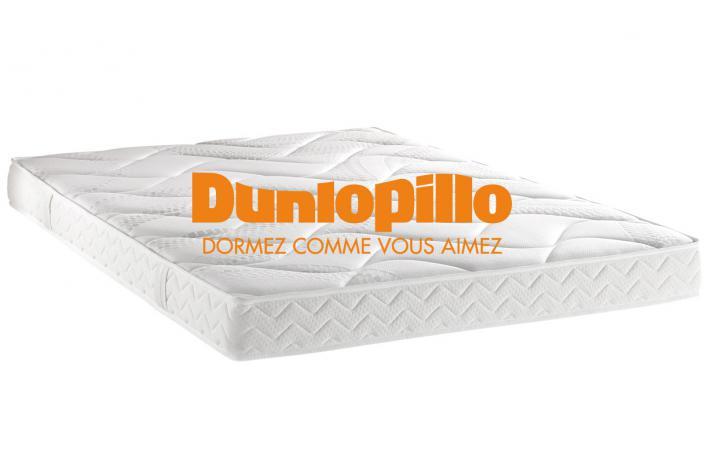 matelas dunlopillo 140 x 190 cm mousse polyur thane 21kg m3 cm novy design pas cher sur. Black Bedroom Furniture Sets. Home Design Ideas