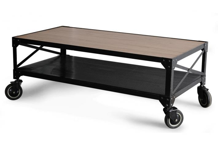 Table basse style industriel pas cher - Table basse industrielle pas cher ...