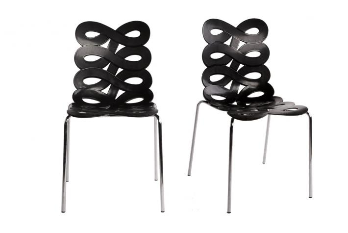 gallery of chaise bistrot wikipedia with chaises noires pas cher. Black Bedroom Furniture Sets. Home Design Ideas