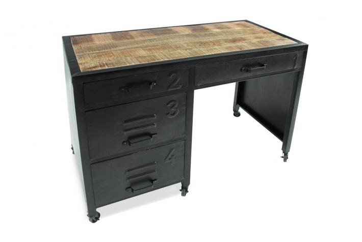 bureau en m tal kochi design sur sofactory. Black Bedroom Furniture Sets. Home Design Ideas
