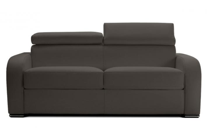 canap convertible en cuir cesar design pas cher sur sofactory. Black Bedroom Furniture Sets. Home Design Ideas
