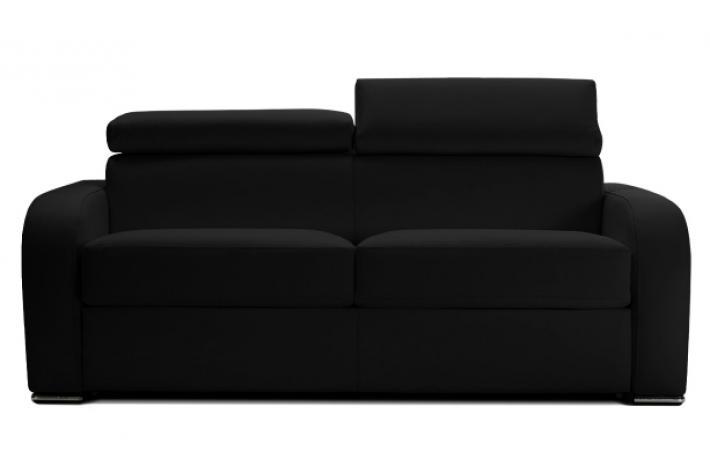 canap convertible en cuir cesar design sur sofactory. Black Bedroom Furniture Sets. Home Design Ideas