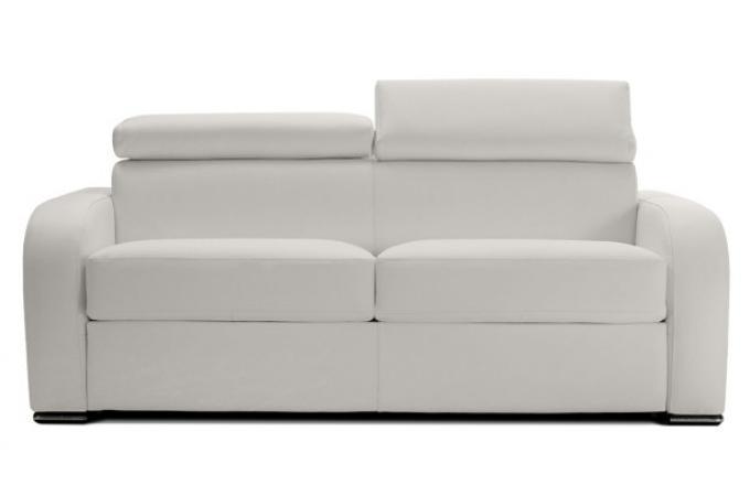 Canapé Convertible Cuir CESAR design sur SoFactory