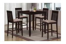 Table haute et 4 chaises MISSION