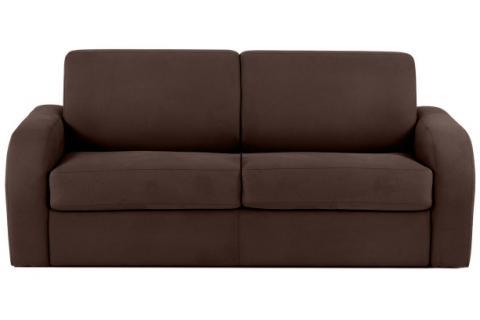 canap convertible en microfibre cezano design sur sofactory. Black Bedroom Furniture Sets. Home Design Ideas