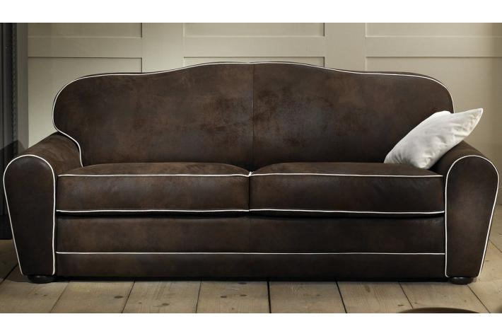 canape convertible microfibre liberty. Black Bedroom Furniture Sets. Home Design Ideas