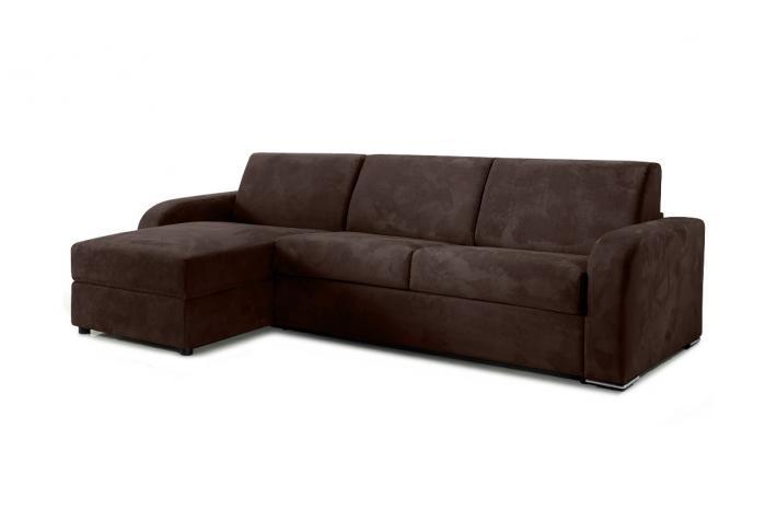 canap d 39 angle convertible en microfibre cezano design sur. Black Bedroom Furniture Sets. Home Design Ideas