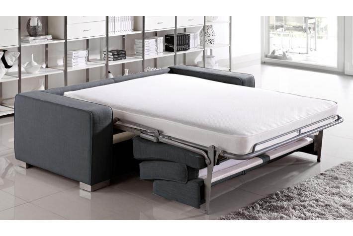 Canap 3 places convertible en tissu guerande design pas cher sur sofactory - Canape 3 places tissu pas cher ...
