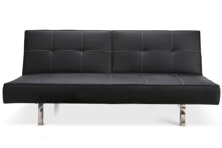 banquette clic clac angela noir design pas cher sur sofactory. Black Bedroom Furniture Sets. Home Design Ideas