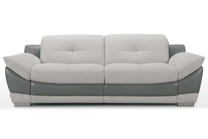 canap relaxation lectrique 3 places en cuir duncan design sur sofactory. Black Bedroom Furniture Sets. Home Design Ideas