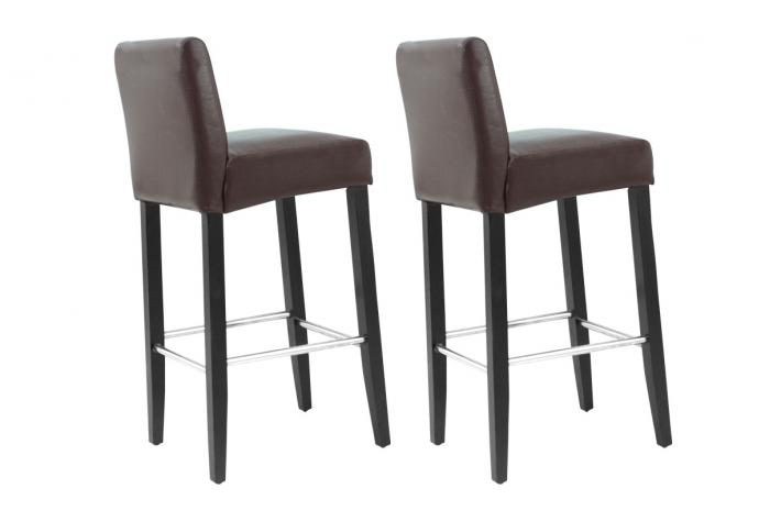 lot de 2 tabouret de bar pas cher maison design. Black Bedroom Furniture Sets. Home Design Ideas