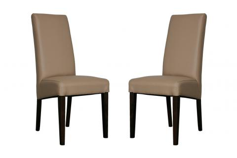 Lot de 2 chaises ADRIA Taupe