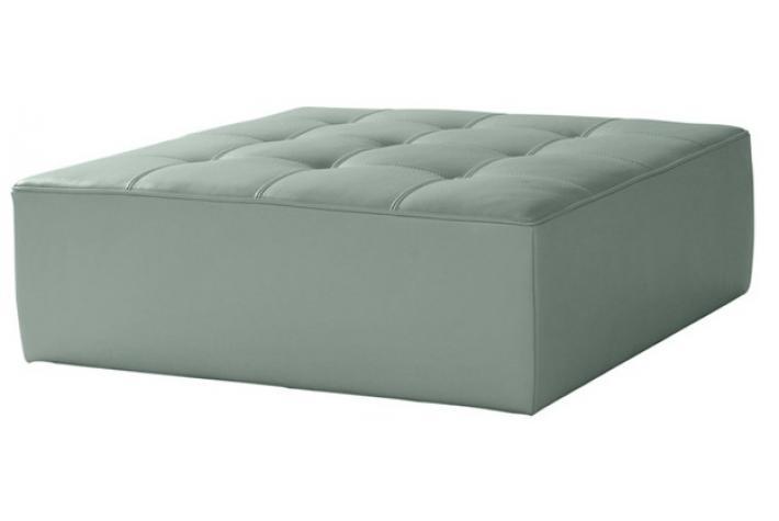 Pouf en cuir rafa design en direct de l 39 usine sur sofactory - Enlever tache sur cuir clair ...