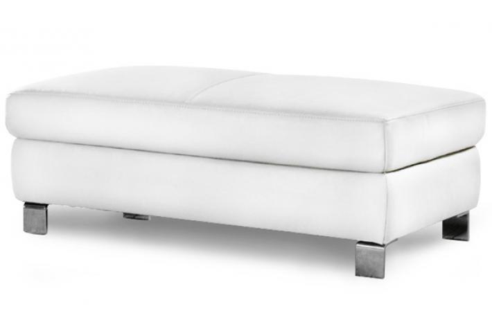 pouf en cuir keno design sur sofactory. Black Bedroom Furniture Sets. Home Design Ideas