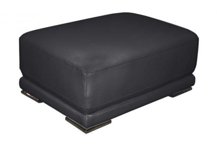 pouf en cuir magnus design pas cher sur sofactory. Black Bedroom Furniture Sets. Home Design Ideas