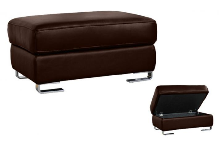 pouf en cuir coffre andy design sur sofactory. Black Bedroom Furniture Sets. Home Design Ideas