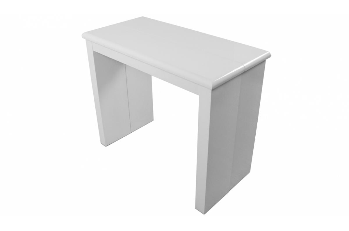 Console extensible blanche 195cm laque CYNTHIA SoFactory