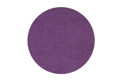 Tapis rond diam.80 SOFTY Violet SoFactory
